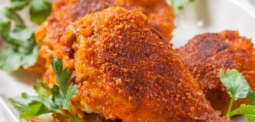 Панированный цыпленок