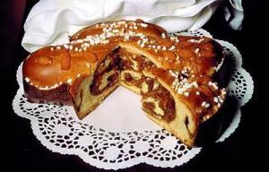 Губана итальянский сладкий пирог