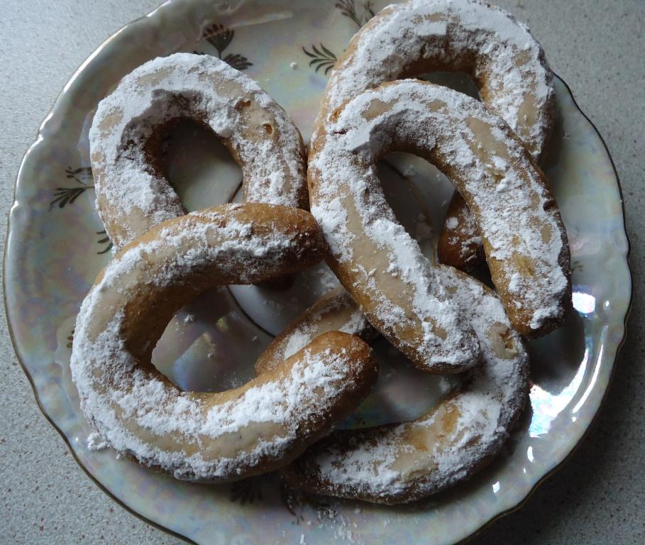 Печенье подковки
