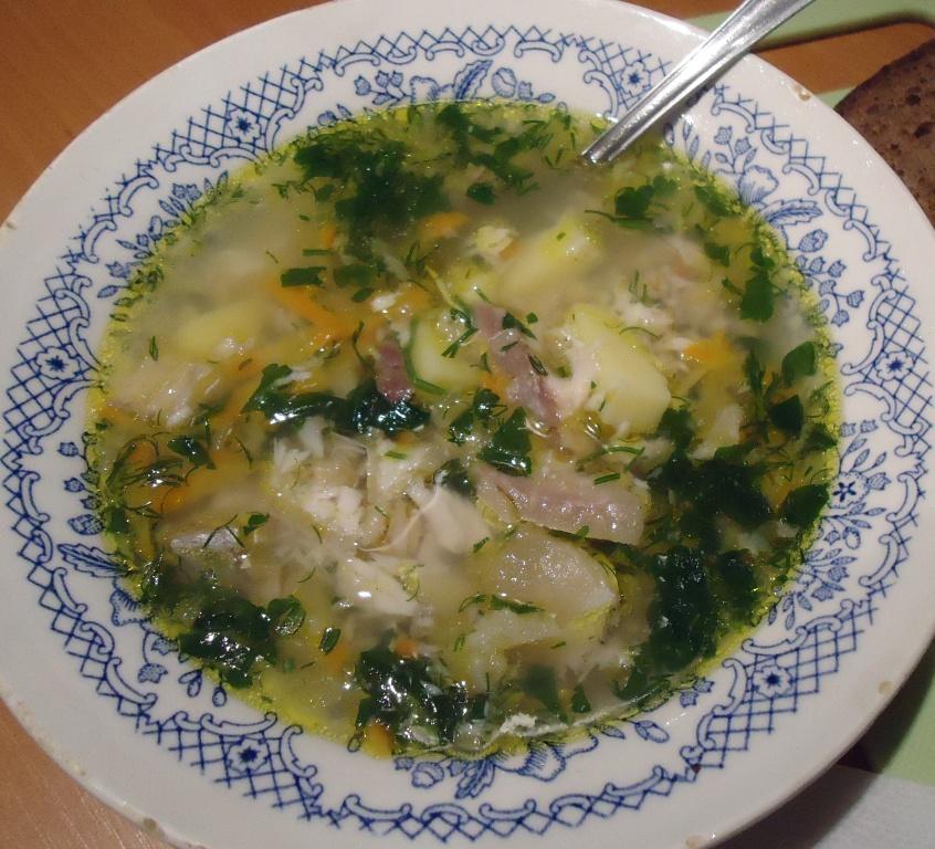 Рыбный суп из толстолобика