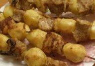 Шашлык с картофелем