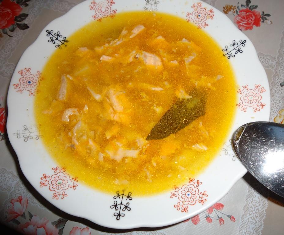 Суп из рыбных хребтов