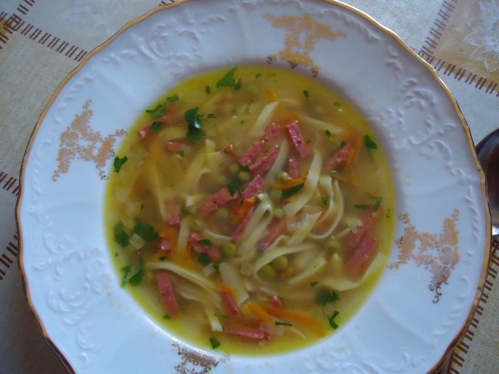 Суп по-домашнему