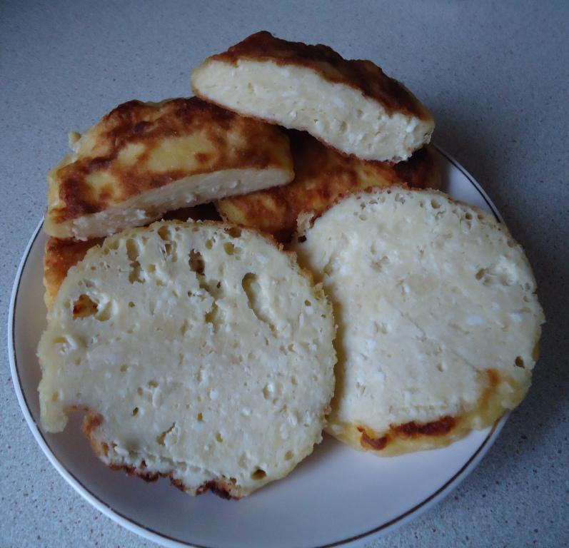 Сырники с кунжутом