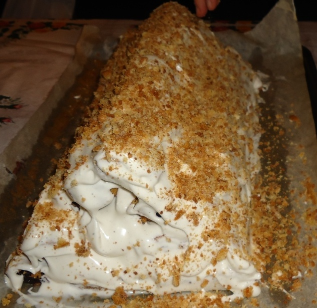 «Монастырская изба» — торт с вишнями