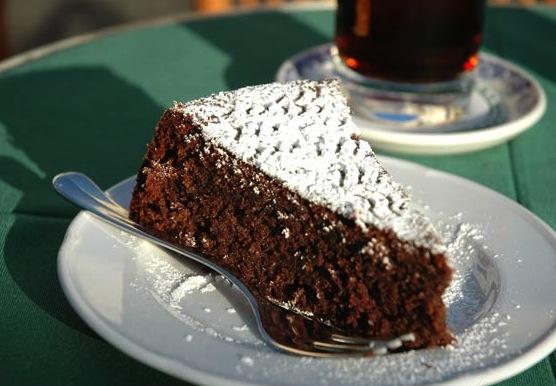 Торт острова Капри
