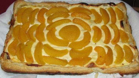 Пирог Солнечный персик
